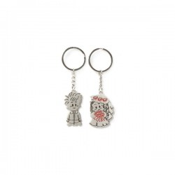 2 Porte-clefs  set  LOVERS