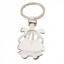 Porte-Clefs Communion Fille