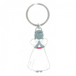 "Porte-clefs  Communion ""Fille"""
